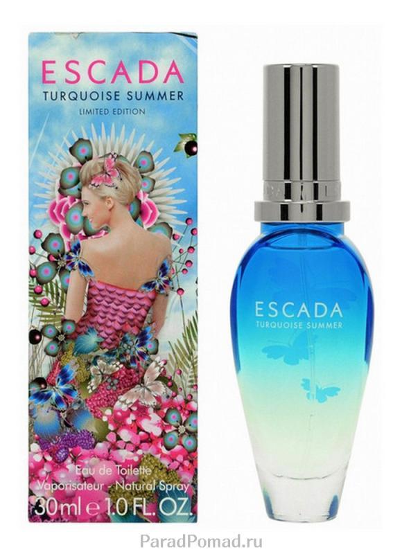 Туалетная вода Turquoise Summer жен. 30 млТуалетная вода<br>-<br>