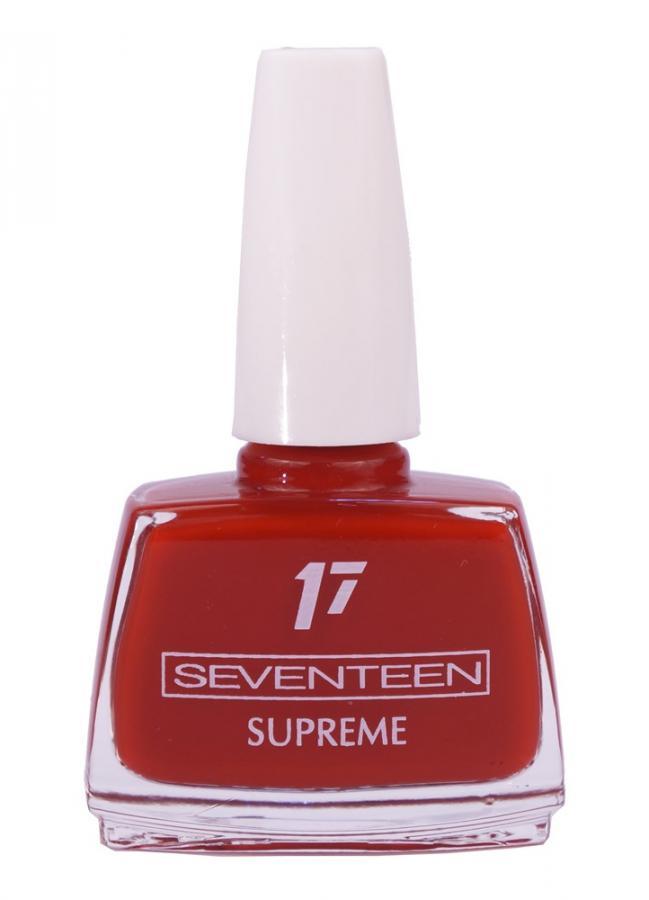 Лак для ногтей Supreme Nail Enamel тон 129 Бордово-коричневыйЛак для ногтей<br>Устойчивый лак для ногтей с насыщенной текстурой.<br>Цвет: Бордово-коричневый;