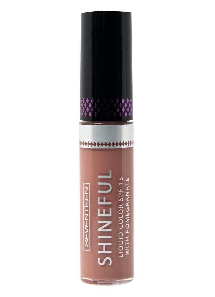 Помада-блеск жидкая с глянцевым эффектом Красный песок SEVENTEEN Shineful Liquid Color SPF 15 фото