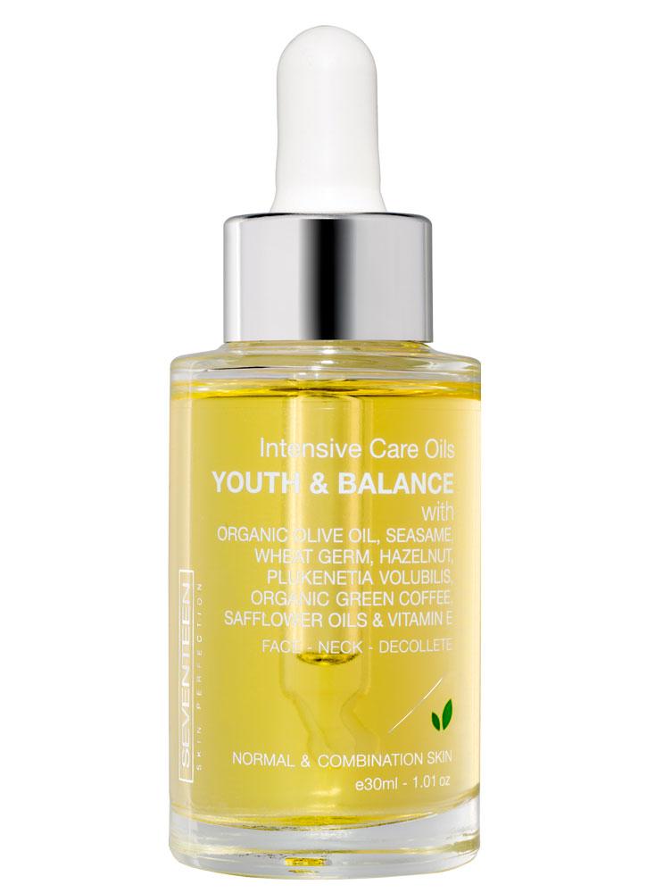 Масло для интенсивного ухода SEVENTEEN Intensive care oils youth and balance фото