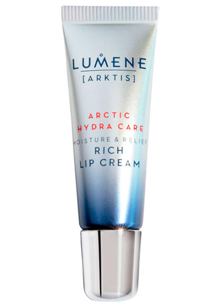 Увлажняющий и успокаивающий насыщенный крем для губ LUMENE Moisture and relief rich lip cream