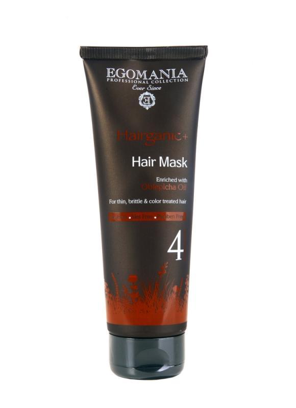 Купить Маска для тонких, ломких, окрашенных волос EGOMANIA, Oblepicha Oil Mask, Израиль