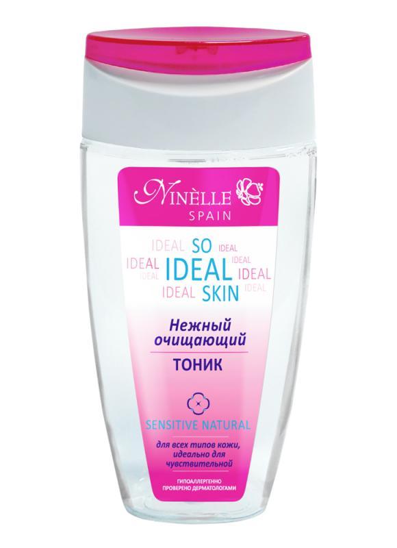 Тоник Нежный Очищающий So Ideal Skin 150 млТоник<br>Тоник завершает процедуру очищения, эффективно увлажняя и тонизируя кожу. Обеспечивает ей ощущение чистоты, свежести и комфорта. Средство интенсивно питает и смягчает кожу, гарантируя ей надежную защиту от негативных факторов окружающей среды, сохраняя красоту, молодость и здоровье. Идеально подходит для ухода даже за самой нежной и чувствительной кожей.<br>
