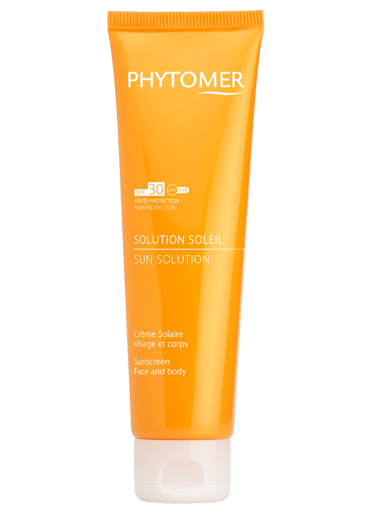 Крем солнцезащитный для тела и лица SPF30 PHYTOMER SUN SOLUTION SUNSCREEN SPF30 FACE AND BODY фото