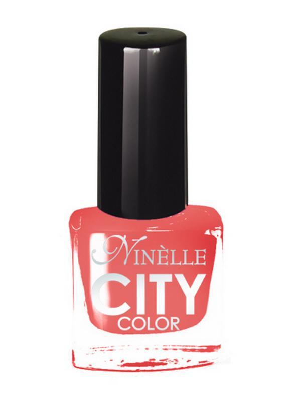 Лак для ногтей City Color тон 161 Ванильный персикЛак для ногтей<br>Новейшие тенденции маникюра и потребности современных женщин вдохновили марку Ninelle на создание новой коллекции лаков для ногтей CITY COLOR от NinelleФормула уникальна и безупречна: лак быстро сохнет, гарантирует идеальную цветопередачу и потрясающий блеск, а также непревзойденную стойкость. Лак для ногтей City color выравнивает поверхность ногтя, делая его идеально гладким и безупречно глянцевым. Высокая концентрация пигментов и новая кисть заметно упростили маникюрную процедуру - лаки теперь можно наносить одним слоем. Удобная кисточка поможет распределить лак быстро и с максимальной точностью, что позволяет равномерно нанести лак даже на короткие ногти. Богатая цветовая гамма позволяет выбрать прекрасный вариант для любого повода. В состав входят ухаживающие компоненты, предотвращающие повреждения ногтей. И еще одно удобство для жительниц мегаполисов - лак снимается настолько легко, что его можно менять так часто, как Вы пожелаете. Подходит для натуральных и искусственных ногтей.<br>Цвет: Ванильный персик;