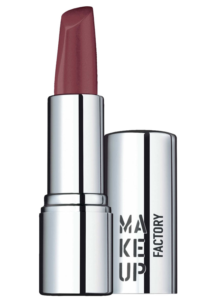 Помада для губ кремовая Темный ягодный MAKE UP FACTORY Lip Color фото