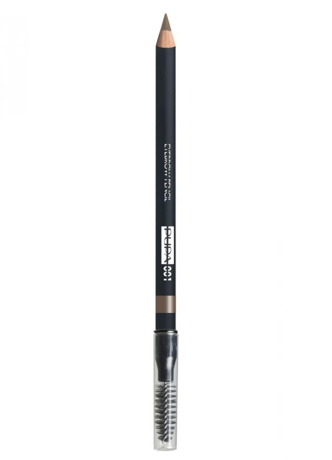 Карандаш для бровей Eyebrow Pencil тон 1 СветлыйКарандаш для бровей<br>Водостойкий карандаш для бровей Eyebrow Pencil идеально подчеркивает брови, создавая естественный макияж. Формула карандаша обеспечивает легкое нанесение и структурированную четкую линию, а также 100% защиту от влаги и воды. Специальная щеточка отлично растушевывает цвет и расчесывает брови.<br>Цвет: Светлый;