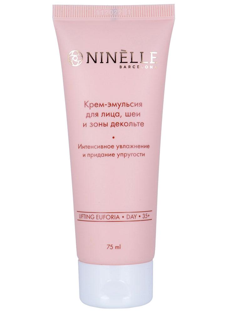 Крем-эмульсия для лица, шеи и зоны декольте интенсивное увлажнение и придание упругости NINELLE