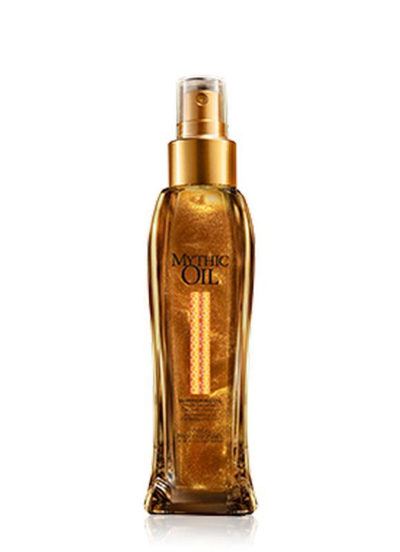 Масло мерцающее Mythic Oil Nourishing 100 млМасло<br>Легкая, тающая текстура мерцающего масла, которая обеспечивает идеальный баланс блеска, питания, увлажнения волос и тела. Бережно ухаживает за волосами, не утяжеляя их, и мгновенно впитывается на теле, оставляя после себя приятный аромат и роскошное мерцание.<br>