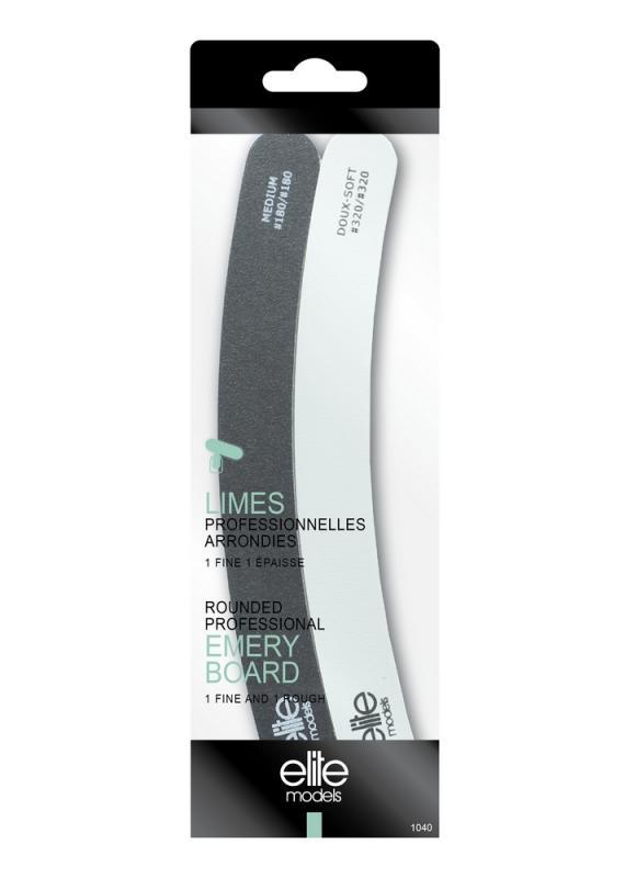 Пилка-полировщик профессиональная округленная (2 штуки)Инструменты для маникюра<br>Двусторонняя пилка - полировщик гарантирует прекрасный маникюр. Грубая сторона пилки создает совершенную форму ногтя, а мягкая используется для последних штрихов. Пилка имеет абразивность 180 / 320 грит. Подходит для естественных и искусственных ногтей, а также особо мягких.<br>