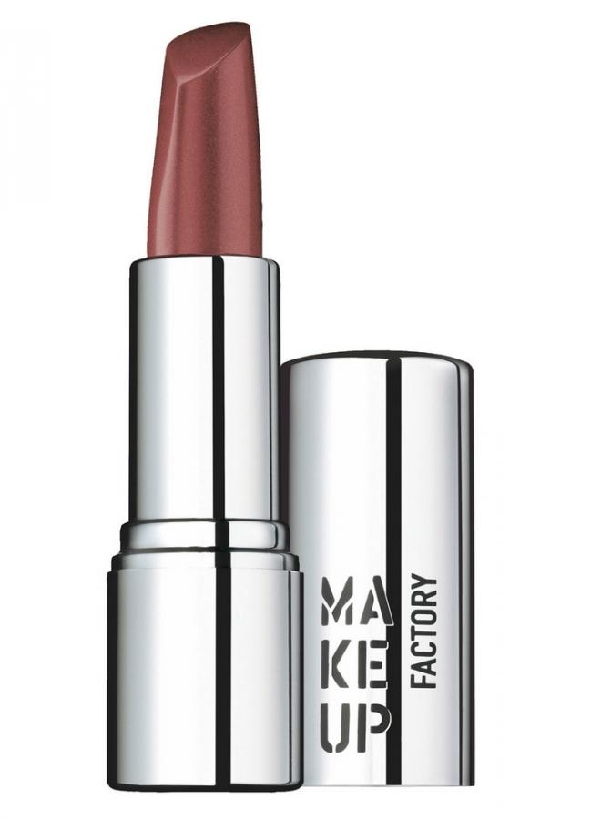 Помада для губ кремовая Красно коричневый MAKE UP FACTORY Lip Color