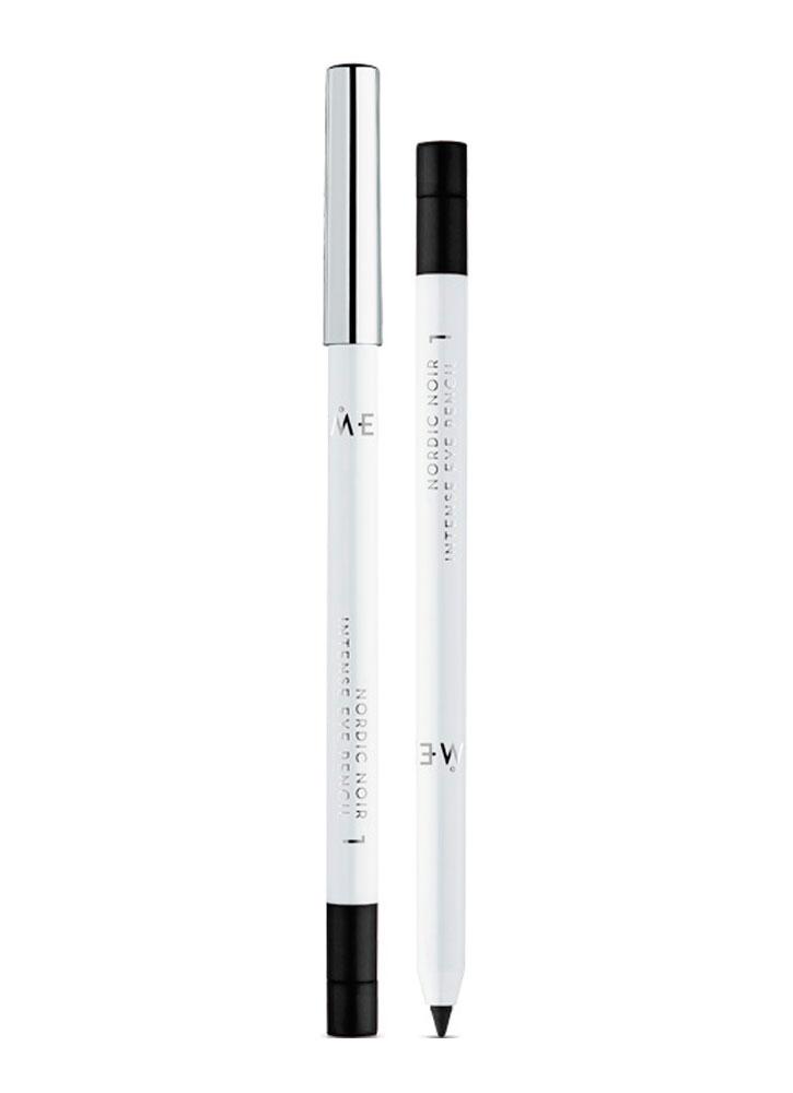 Карандаш для глаз Nordic Noir 1 Intense BlackКарандаш для глаз<br>Интенсивный карандаш для век с кремовой текстурой идеален для создания мягких и четких линий в макияже глаз. С помощью карандаша легко добиться насыщенных и интенсивных оттенков. Стойкий результат, не отпечатывается. 8 оттенков. Стильный корпус украсит любую косметичку.<br>Цвет: Интенсивный Черный;