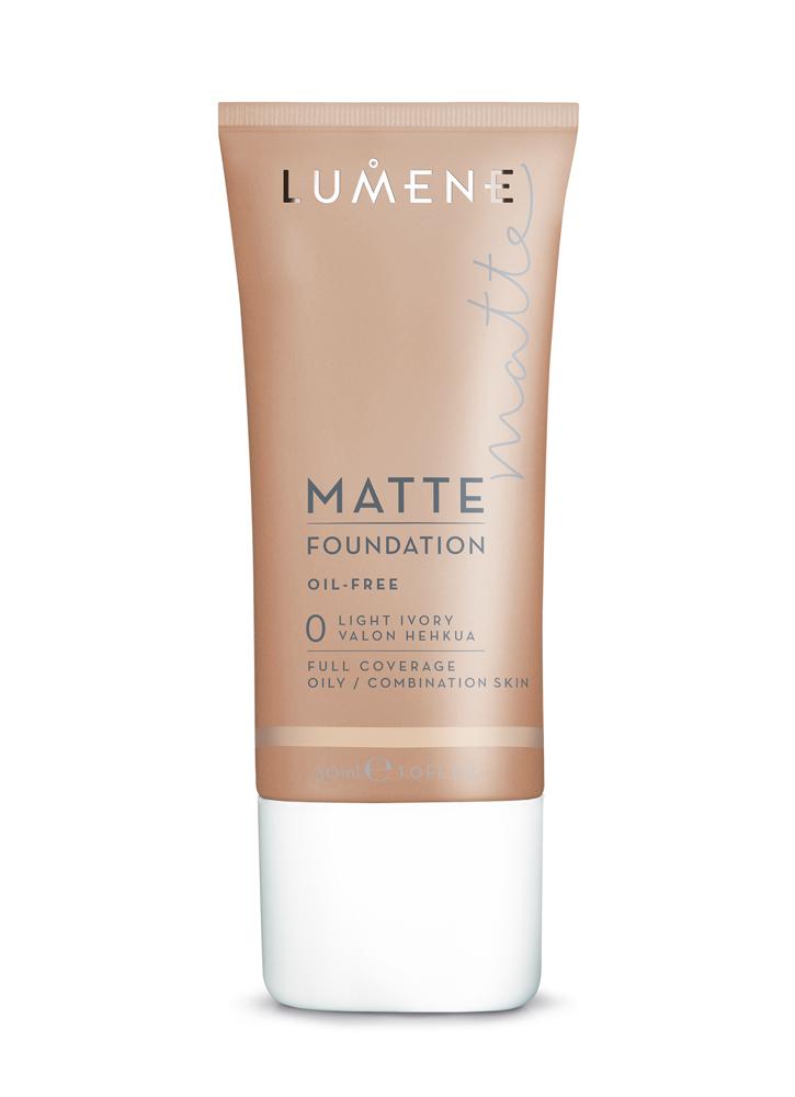 LUMENE Тональный крем матирующий Matte тон 0 Light Ivory