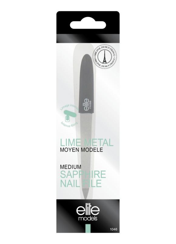 Купить Пилочка для ногтей металлическая ELITE, металлическая пилка 1046, Франция