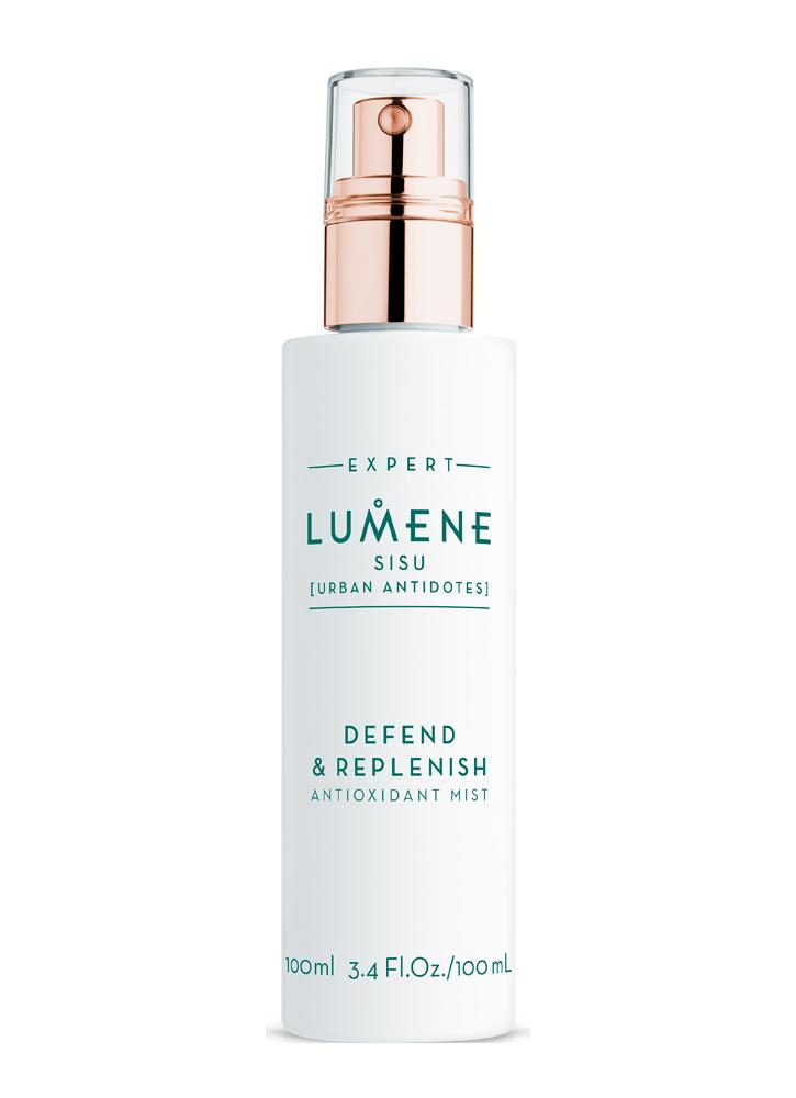 LUMENE Дымка для лица восстанавливающая и защищающая Defend  Replenish Antioxidant Mist Sisu, 100 мл