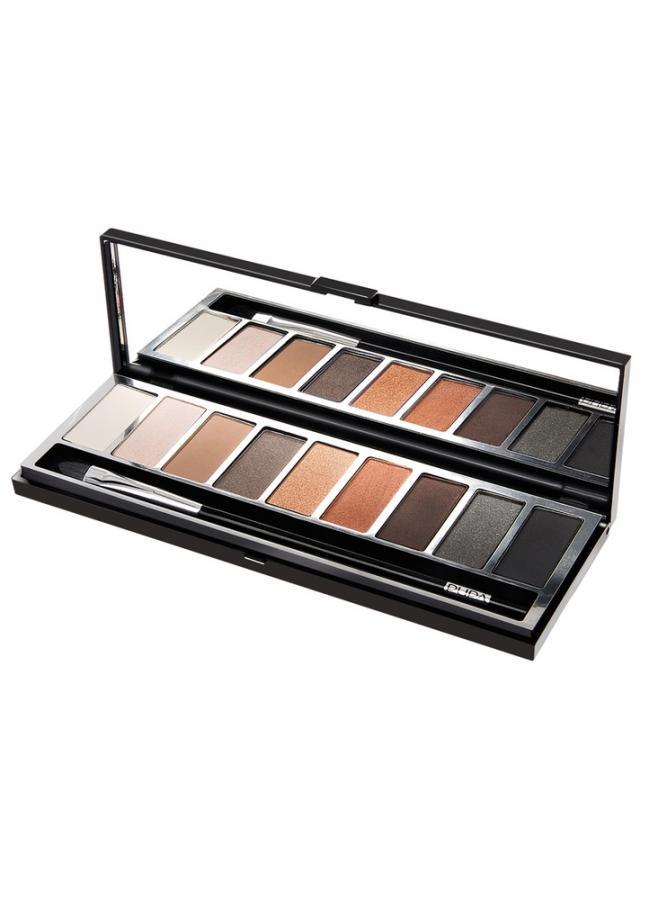 Косметический набор теней Pupart Eyeshadow Palette тон 1 Бежевый