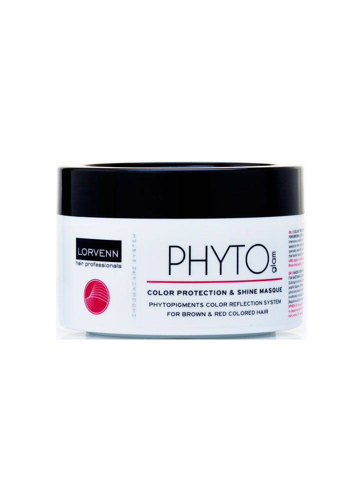 Маска для волос, окрашенных в коричневый и красный цвет Phyto Glam MaskМаска<br>-<br>