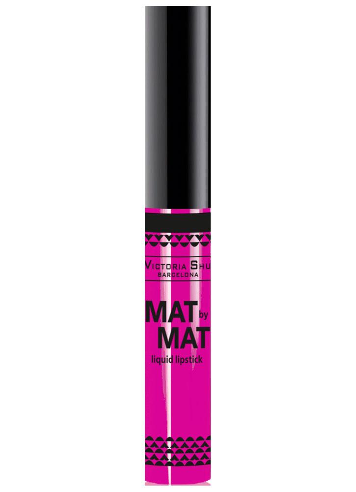 Помада для губ жидкая матовая Mat By Mat тон 251Помада для губ<br>-<br>Цвет: Яркая фуксия;