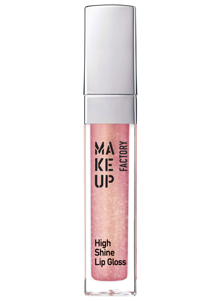 Блеск для губ Розовое золото MAKE UP FACTORY High Shine фото