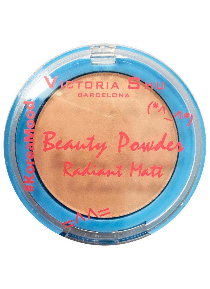 Пудра для лица компактная Янтарный VICTORIA SHU Beauty Powder/#KOREAMOOD фото