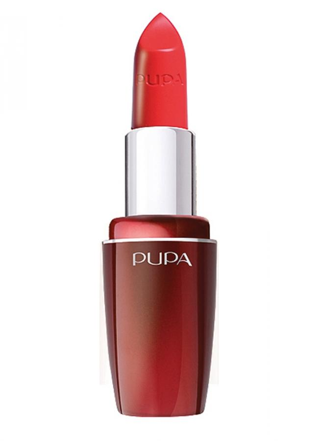 Помада для губ PUPA Volume тон 403 Яркий-красныйПомада для губ<br>Помада Pupa Volume сочетает в себе эффективное средство по уходу, способствующее увеличению объема губ, и идеальное средство для макияжа. Кремообразная текстура позволяет подчеркнуть и выделить губы. Pupa Volume обеспечивает идеальный результат: сочный цвет, непревзойденную четкость и изысканный блеск.<br>Цвет: Яркий-красный;