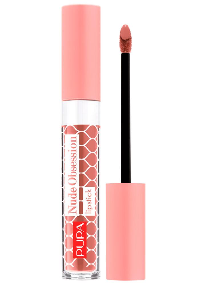 Купить Помада для губ жидкая Розовый корсет PUPA, Nude Obsession, Италия