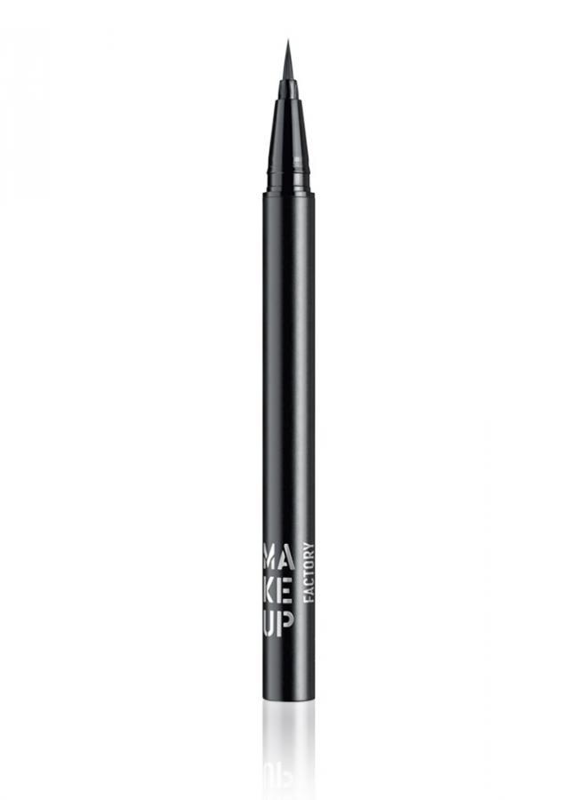 Подводка для глаз жидкая Calligraphic Eye Liner тон 1 ЧерныйПодводка для век<br>Высокопигментированная жидкая подводка для глаз&amp;nbsp;&amp;nbsp;Calligraphic Eye Liner с точной «каллиграфической» кисточкой,&amp;nbsp;&amp;nbsp;позволяет создать&amp;nbsp;&amp;nbsp;тонкую «художественную» линию вдоль века. Удлиненная кисть - аппликатор с подвижным кончиком позволяет регулировать толщину линий. Подводка создает плотный черный цвет после нанесения и высыхания, а также отличается экстремальной устойчивостью.<br>Цвет: Черный;