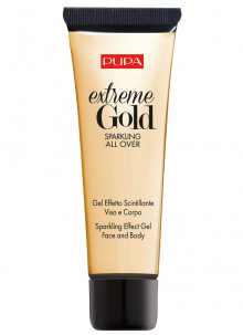 Каталог Гель для лица и тела сверкающий Extreme Gold Sparkling All Over тон 001