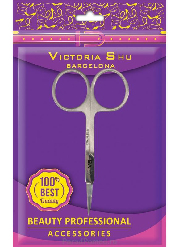 Ножницы для удаления кутикулы из нержавеющей стали VICTORIA SHU