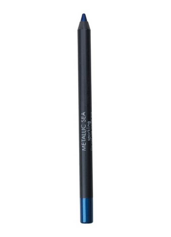 Карандаш для глаз Eyepencil тон 471 Metallic SeaКарандаш для глаз<br>Устойчивый карандаш для глаз. Удобный формат применения &amp;#40;затачивается&amp;#41;. Широкая гамма оттенков удовлетворяет любым нуждам клиента, дает бесконечную возможность творчества для новичков и профессионалов.<br>Цвет: Metallic Sea;