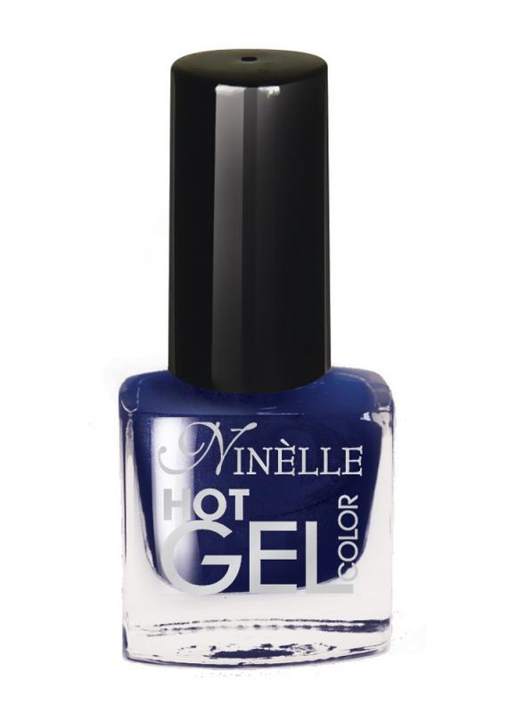 Гель-лак для ногтей Hot Gel Color тон G11 Темно-синийЛак для ногтей<br>Здоровые ногти и яркий цвет!С помощью лака с эффектом гелевого покрытия можно создать идеальный маникюр без вреда для ногтей, который долго держится. Профессиональное гелевое покрытие из 11 ультра модных оттенков всего за считаные минуты без использования специальных UV ламп. Революционная формула гелевого покрытия создаёт супер глянцевый маникюр с эффектом зеркального блеска. Эффект 3D текстуры создаёт объёмное и гладкое покрытие. Цвет яркий и насыщенный уже после первого слоя. Широкая кисть с округлыми щетинками гарантирует превосходное нанесение для быстрого и профессионального маникюра. Стойкий маникюр на долгое время.<br>Цвет: Темно-синий;