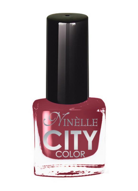 Лак для ногтей City Color тон 169 Двойной капучиноЛак для ногтей<br>Новейшие тенденции маникюра и потребности современных женщин вдохновили марку Ninelle на создание новой коллекции лаков для ногтей CITY COLOR от NinelleФормула уникальна и безупречна: лак быстро сохнет, гарантирует идеальную цветопередачу и потрясающий блеск, а также непревзойденную стойкость. Лак для ногтей City color выравнивает поверхность ногтя, делая его идеально гладким и безупречно глянцевым. Высокая концентрация пигментов и новая кисть заметно упростили маникюрную процедуру - лаки теперь можно наносить одним слоем. Удобная кисточка поможет распределить лак быстро и с максимальной точностью, что позволяет равномерно нанести лак даже на короткие ногти. Богатая цветовая гамма позволяет выбрать прекрасный вариант для любого повода. В состав входят ухаживающие компоненты, предотвращающие повреждения ногтей. И еще одно удобство для жительниц мегаполисов - лак снимается настолько легко, что его можно менять так часто, как Вы пожелаете. Подходит для натуральных и искусственных ногтей.<br>Цвет: Двойной капучино;