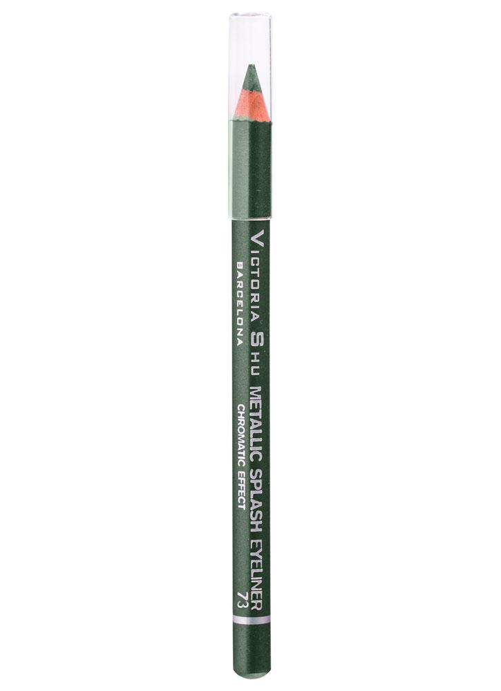 Купить Карандаш для глаз Зеленый VICTORIA SHU, Metallic Splash, Чехия
