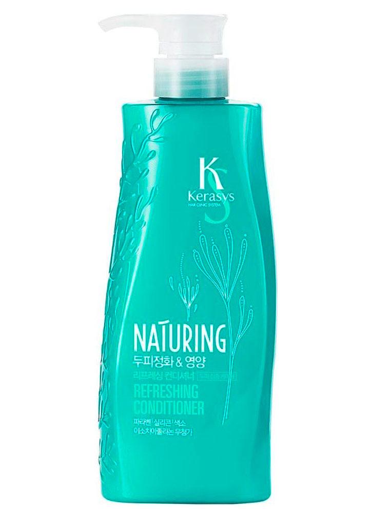 Купить Кондиционер для волос Уход за кожей головы KERASYS, Kerasys Naturing Refreshing Conditioner, Южная Корея