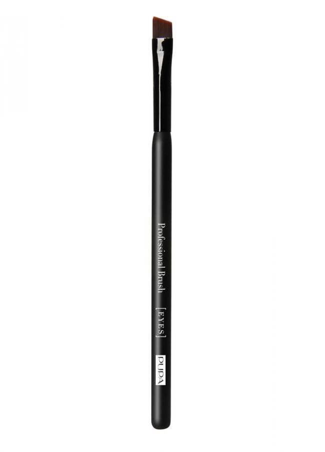 Кисть для подводки и бровей Eyeliner &amp; Eyebrow BrushКисти<br>Кисть Eyeliner and Brow brush даст возможность идеально подчеркнуть контур глаз с помощью карандаша, теней или подводки. Плоская скошенная форма кисти незаменима при оформлении бровей.<br>