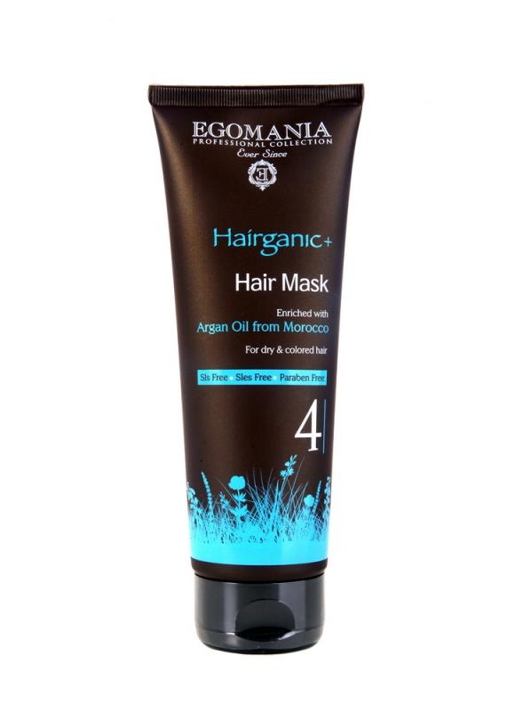 Купить Маска для сухих и окрашенных волос EGOMANIA, Argan Oil Hair Mask, Израиль