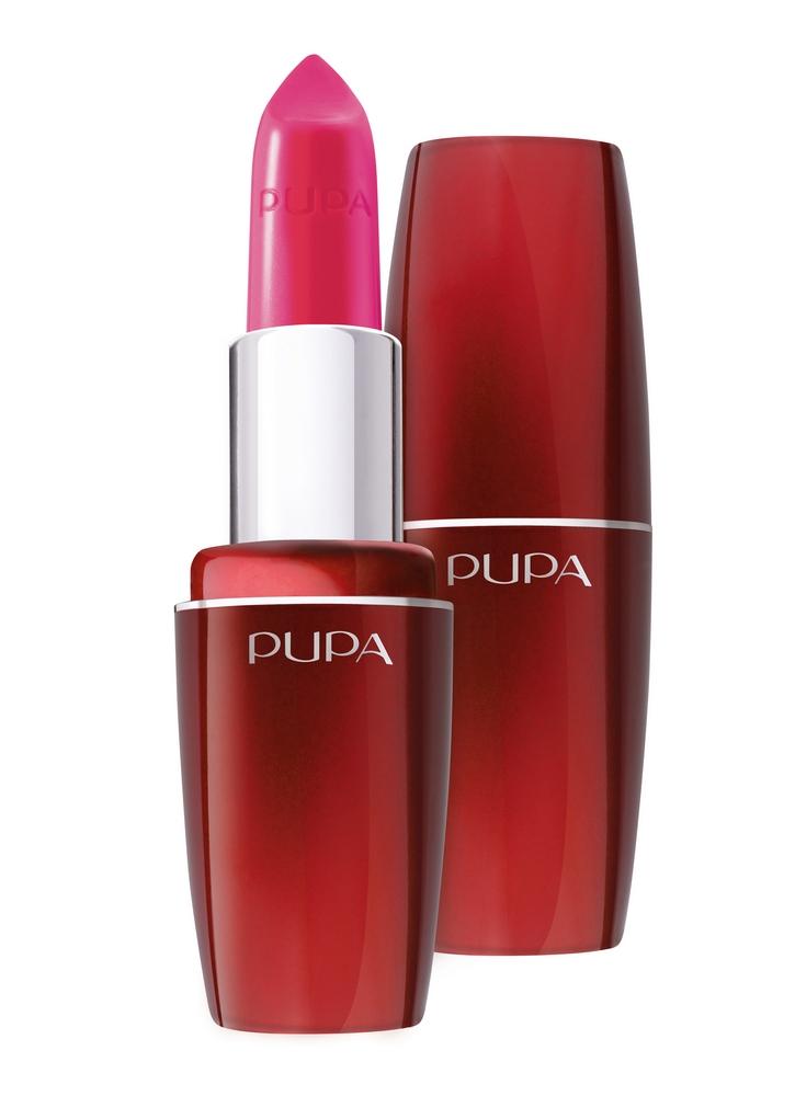 Помада для губ PUPA Volume тон 305 Поп фуксияПомада для губ<br>Помада Pupa Volume сочетает в себе эффективное средство по уходу, способствующее увеличению объема губ, и идеальное средство для макияжа. Кремообразная текстура позволяет подчеркнуть и выделить губы. Pupa Volume обеспечивает идеальный результат: сочный цвет, непревзойденную четкость и изысканный блеск.<br>Цвет: Поп фуксия;