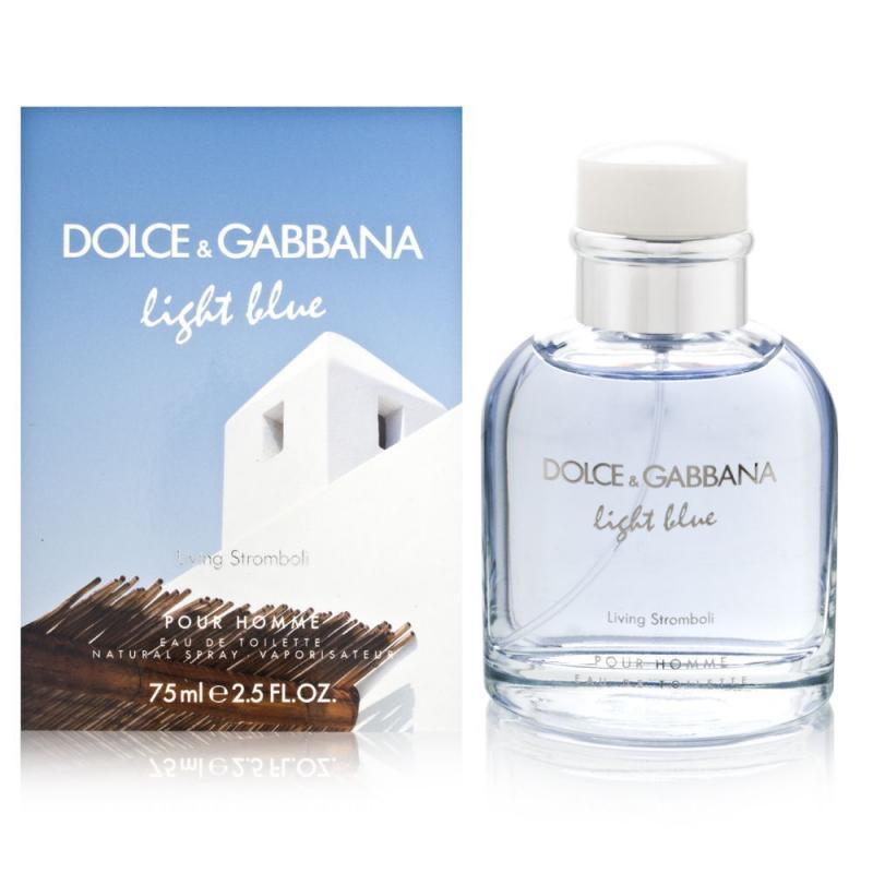 Туалетная вода Light Blue Living Stromboli муж. 75 млТуалетная вода<br>-<br>