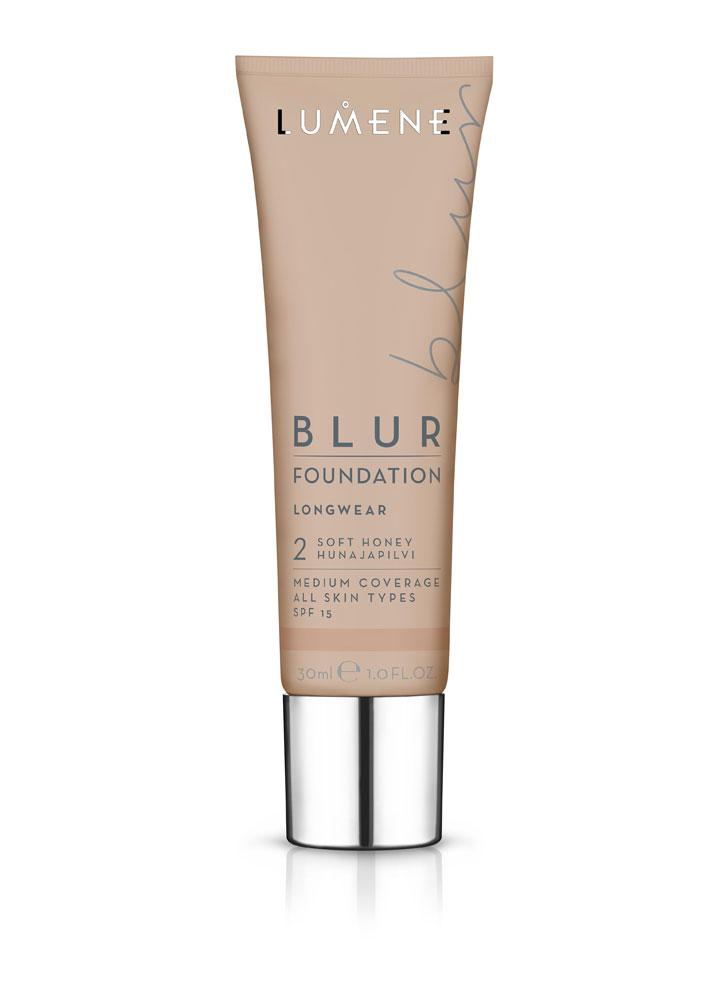 Тональный крем преображающий BLUR SPF 15 тон 2 МедовыйТональное средство<br>Стойкий тональный крем мгновенно преобразит Вашу кожу, оставляя ее ровной, сияющей и отдохнувшей.&amp;nbsp;&amp;nbsp;Тональный крем не перегружает кожу, при этом создает эффект фотошопа.<br>Цвет: Медовый;