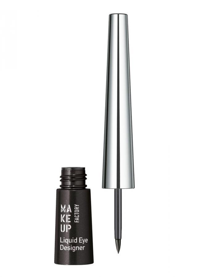 Купить Подводка для глаз жидкая Черный MAKE UP FACTORY, Liquid Eye Designer, Германия