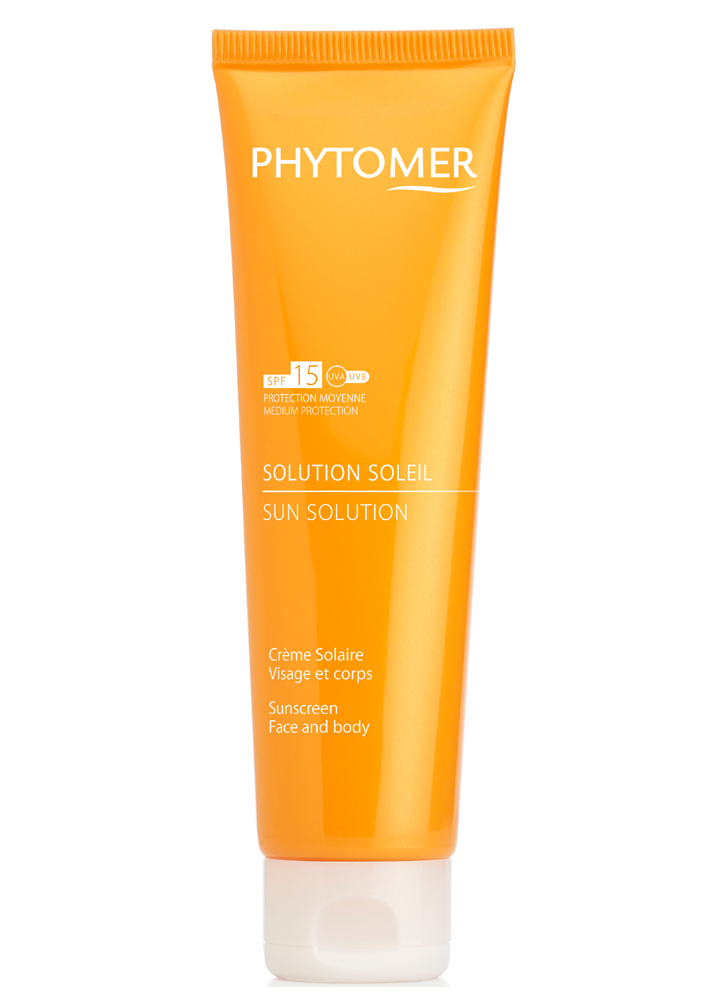 PHYTOMER Солнцезащитный крем SPF15 Solution Soleil Sunscreen Face and body SPF 15 125 мл