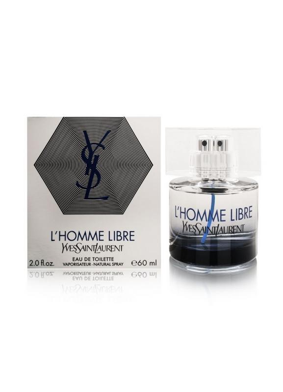 Туалетная вода LHomme Libre муж. 60 млТуалетная вода<br>Придерживаясь основных канонов парфюмерного дела Yves Saint Laurent выпускает ароматы высшего качества. Невероятно элегантный, утончённый и благородный аромат L&amp;#39;HOMME Libre Yves Saint предназначен для мужчин прямолинейных, обладающих безошибочным чувством стиля. Плавная гармония запахов прекрасно чувствуется на коже, оставаясь приятным шлейфом. L&amp;#39;HOMME Libre принадлежит к группе ароматов древесно-пряных. Верхние нежные ноты звездчатого аниса, базилика, листа фиалки и бергамота плавно переходят в сердечные ноты мускатного ореха и розового перца. Ноты базы - ветивер и пачули.Тип аромата: Пряный ароматический<br>
