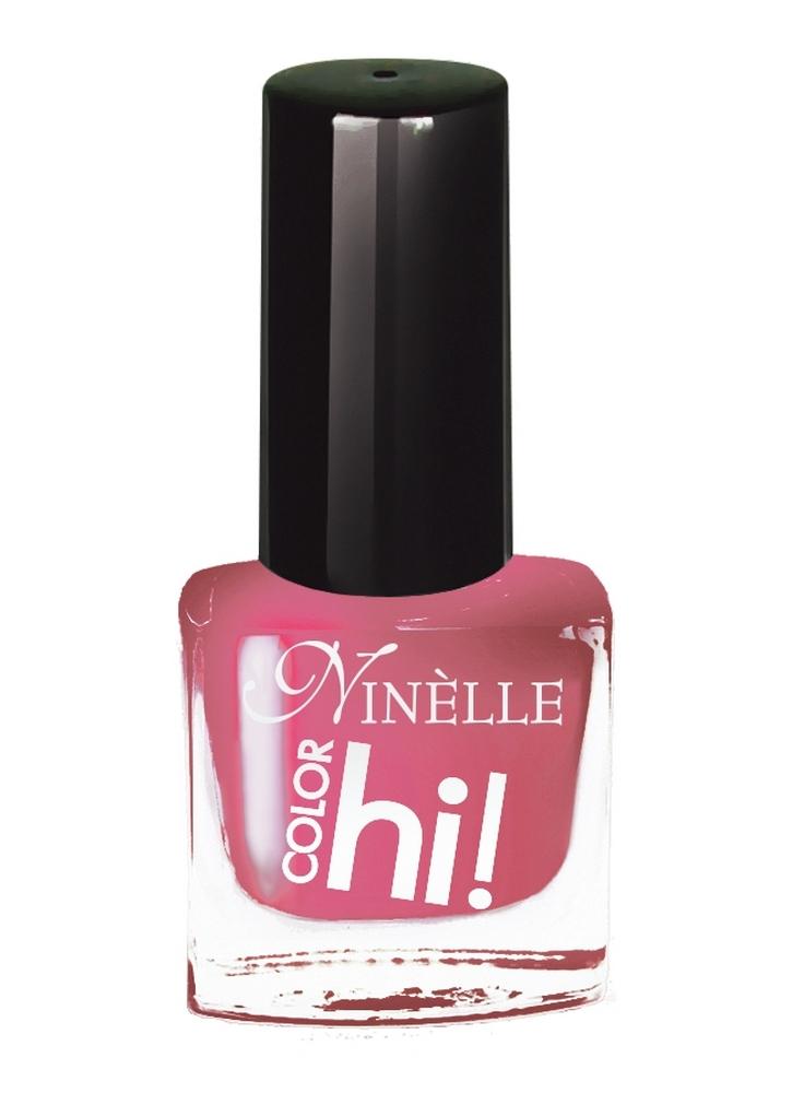 Лак для ногтей HI!Color тон 50 РозовыйЛак для ногтей<br>Лак для ногтей HI COLOR от Ninelle – это абсолютный цвет, ультра-сияние и стойкость. В новой коллекции 15 ультрасовременных оттенков для идеального маникюра с эффектами, от которых невозможно отказаться!<br>Цвет: Розовый;