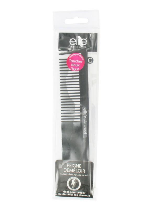 Расческа для распутывания волос большаяРасчески для укладки<br>Классическая расческа для облегчения расчесывания волос.Профессиональная расческа - гибкая, антистатичная и стойкая к высоким температурам фена и к продуктам для окрашивания волос.<br>