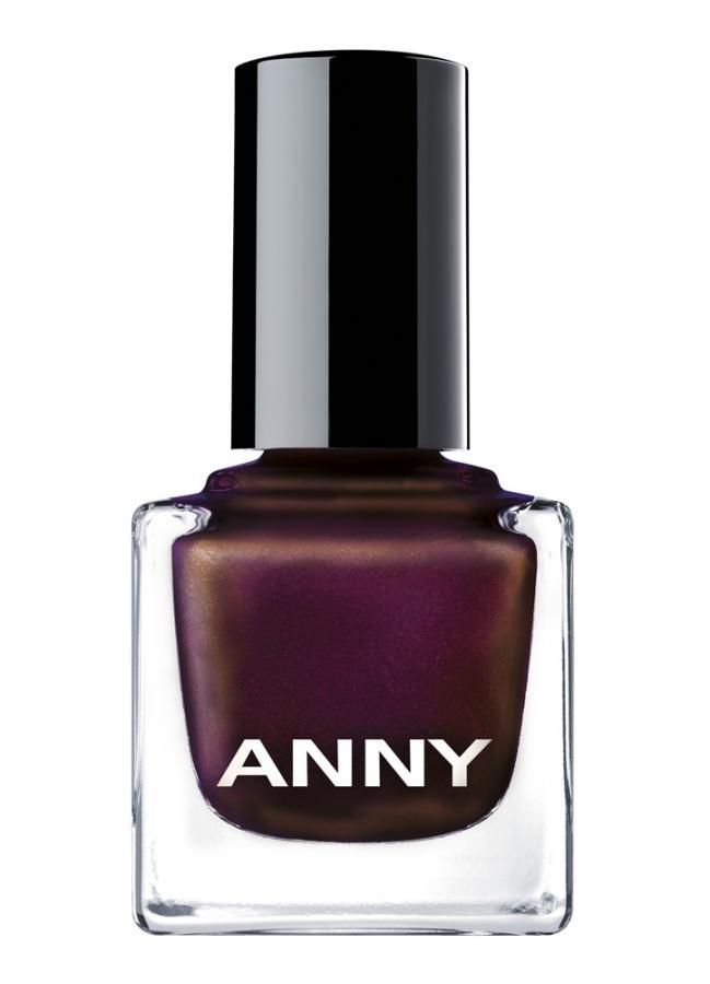 Лак для ногтей тон 47 Фиолетовый с золотым отливомЛак для ногтей<br>ANNY придерживается уникального цветового концепта, базирующегося на более чем 100 оттенков лака для ногтей профессионального качества, которые обеспечивают превосходное покрытие даже одним слоем, быстро сохнут и долго хранятся, не теряя блеска. Плоская удлиненная профессиональная кисточка позволит легко и просто наносить лак на ногти.<br>Цвет: Фиолетовый с золотым  отливом;