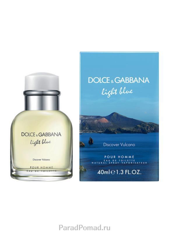 Туалетная вода Light Blue Pour Homme Discover Vulcanoi муж. 40 мл