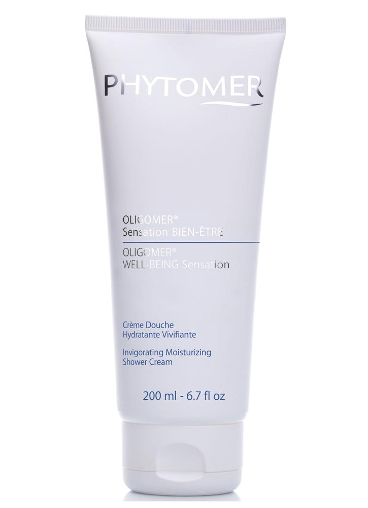 PHYTOMER Увлажняющий тонизирующий крем-гель для душа Oligomer Well-Being -Invigorating Moisturizing 200 мл