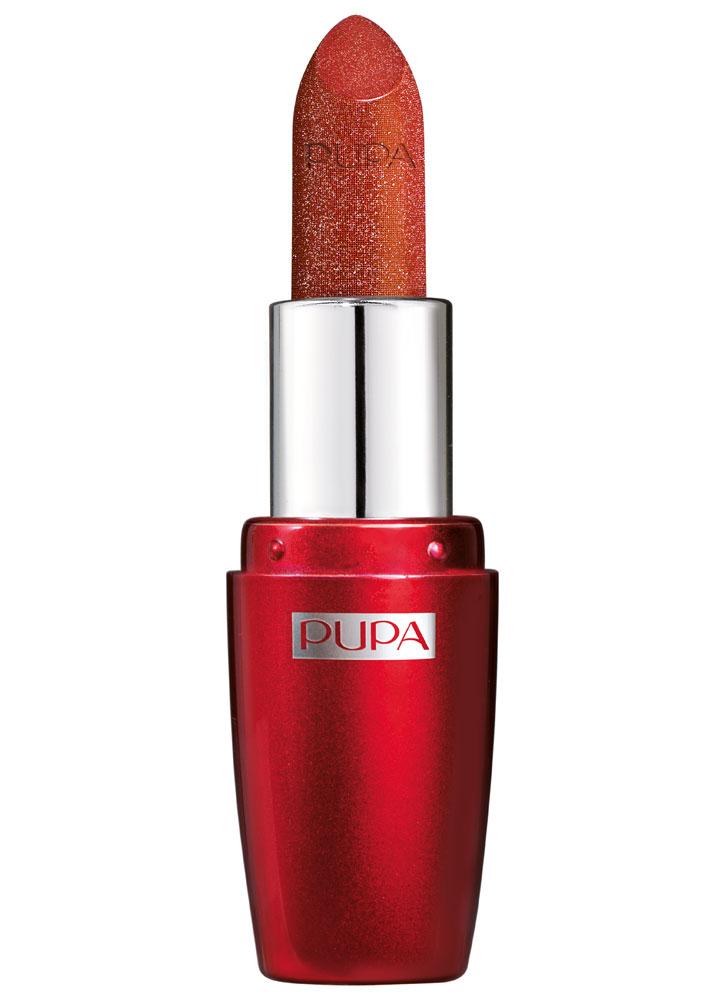 Помада для губ с эффектом мерцания Драгоценный красный PUPA I'M PRECIOUS фото