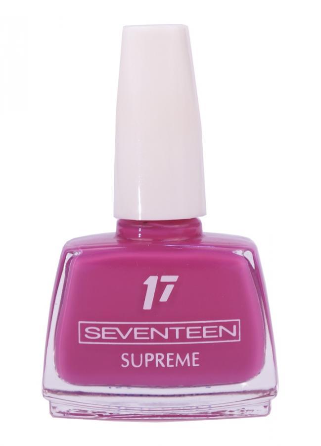 Лак для ногтей Supreme Nail Enamel тон 155 Темная фуксияЛак для ногтей<br>Устойчивый лак для ногтей с насыщенной текстурой.<br>Цвет: Темная фуксия;
