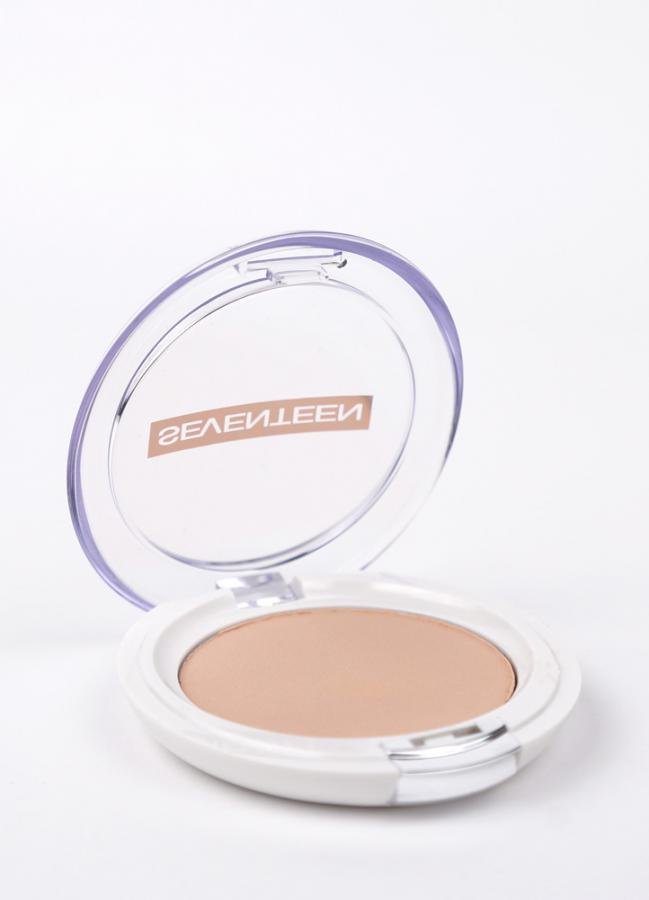 SEVENTEEN Румяна для лица матовые шелковистые компактные Natural Matte Silky Blusher тон 12 Розово-персиковый